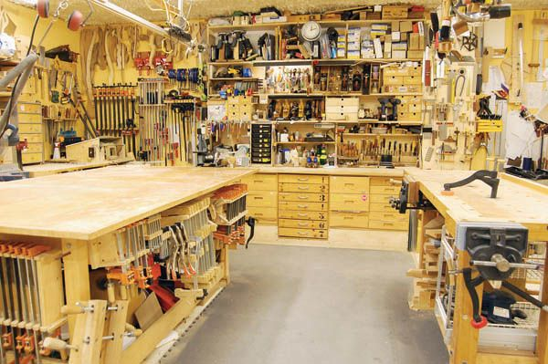 home woodworking shop tours Archives - Woodworking Projects