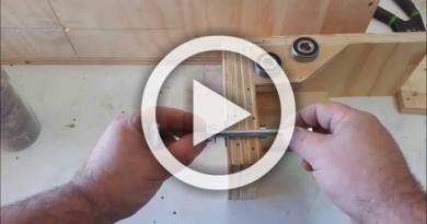 Homemade Lathe and Tenon Cutting Machine